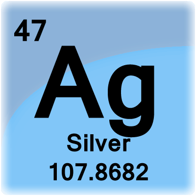 Color periodic table element cells element cell for silver urtaz