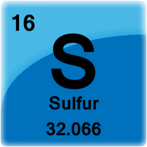 Element cell for Sulfur