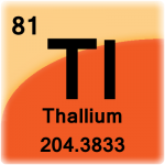 Element cell for Thallium