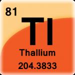 Element cell for Thallium
