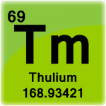 Element cell for Thulium