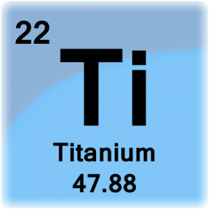 Titanium Periodic Table Cell