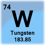Element cell for Tungsten