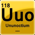 Element cell for Ununoctium