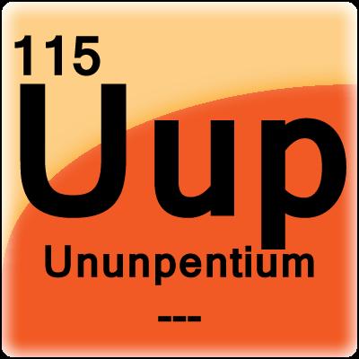 ununpentium element ce - Periodic Table Symbol Ununquadium