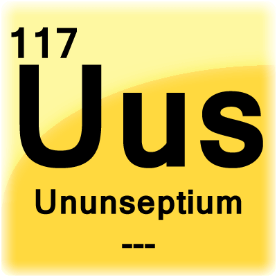 Ununseptium Element Cell - Science Notes and Projects
