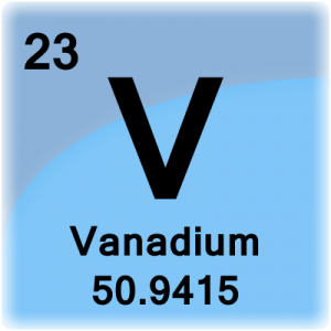 Element cell for Vanadium