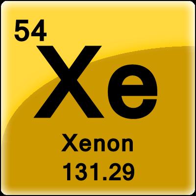Xenon Periodic Table Xenon Element Cell - S...