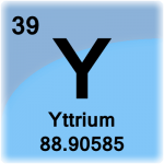 Element cell for Yttrium
