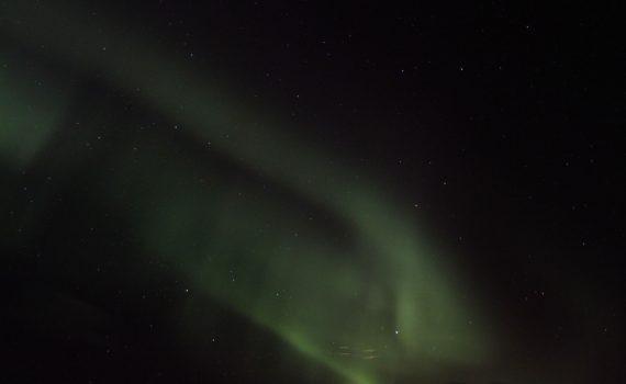 Green Aurora in Iceland (Anne Helmenstine)