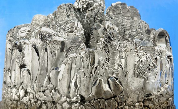Crystallized Magnesium