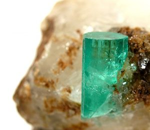 Colombian Emerald Crystal (Rob Lavinsky, iRocks.com)