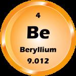 004 - Beryllium Button