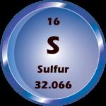 016 - Sulfur Button