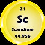 021 - Scandium Button