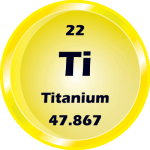 022 - Titanium Button