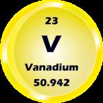 023 - Vanadium Button