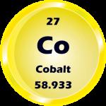 027 - Cobalt Button
