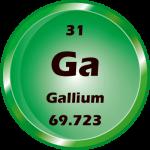 031 - Gallium Button