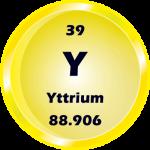 039 - Yttrium Button