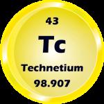 043 - Technetium Button