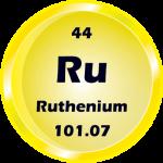 044 - Ruthenium Button
