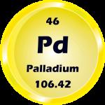 046 - Palladium Button