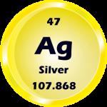 047 - Silver Button