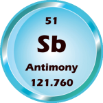 051 - Antimony Button