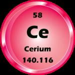 058 - Cerium Button