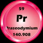 059 - Praseodymium Button