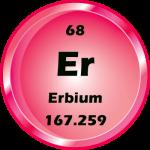 068 - Erbium Button