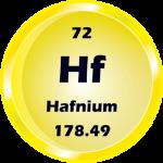 072 - Hafnium Button