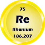075 - Rhenium Button
