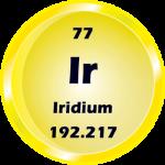077 - Iridium Button