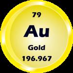 079 - Gold Button