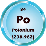 084 - Polonium Button