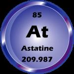 085 - Astatine Button