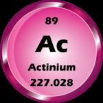089 - Actinium Button