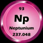 093 - Neptunium Button