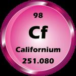 098 - Californium Button