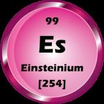 099 - Einsteinium Button