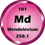 101 - Mendelevium Button