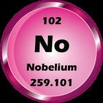 102 - Nobelium Button