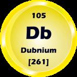 105 - Dubnium Button
