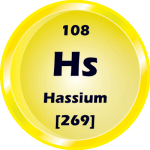 108 - Hassium Button