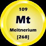 109 - Meitnerium Button