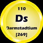 110 - Darmstadtium Button