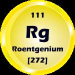 111 - Roentgenium Button