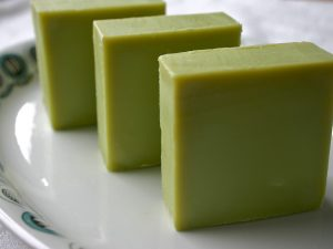 Once you master soap in a tube, upscale and try making homemade bars of soap. (kahvikis)